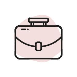 Portfölj ikon